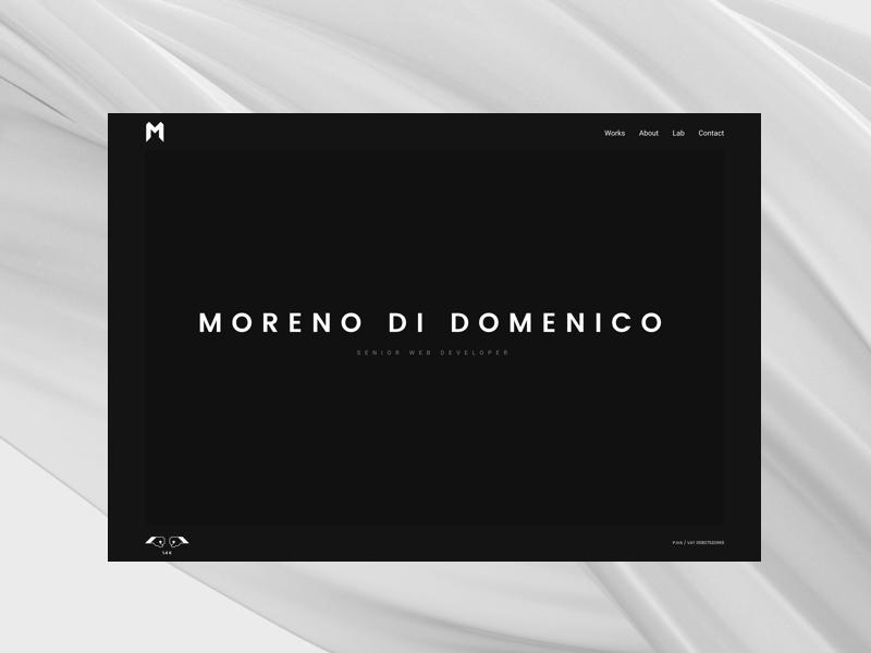 Personal Site Redesign personal developer website portfolio design