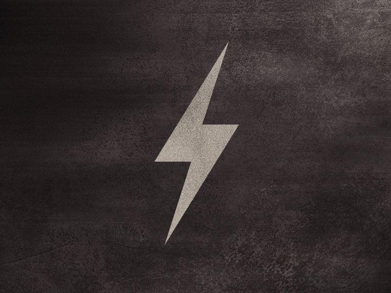 Voltage bolt lightning lamps grunge