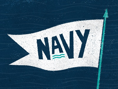 Naval Flag - Final illustration flag type water