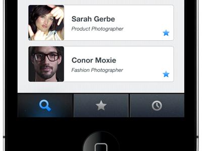 iOS App Menu