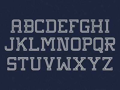 Typeface Update typography font