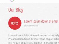 Blog/Site WIP