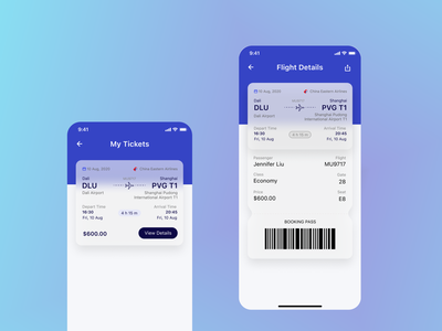 Train Ticket Booking App-2 ux app ui design