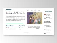 Undergrads Kickstarter