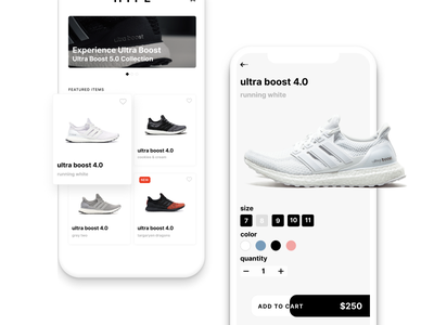 e-commerce concept app lifestyle shopping ux mobile ui tomyum app mobile adidas color design