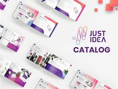 JustIdea - Catalog Design dtp book publication catalog design catalog typography branding