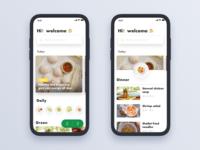 Cook App - Homepage
