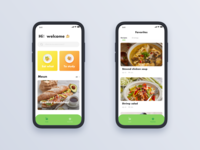 Cook App - Homepage Revision