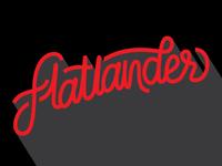 Flatlander Lettering