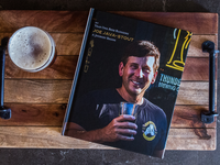 Beer blog book design