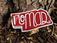 Nebraska Nomad Sticker