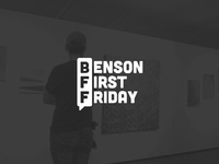 Benson First Friday Logo