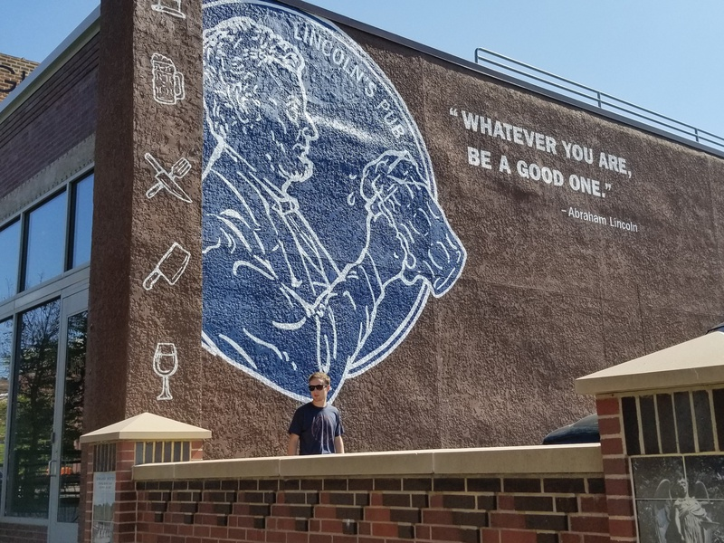 Lincoln's Pub Mural