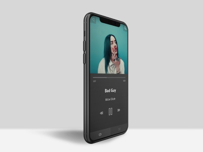 Daily UI #09 music player music user experience ux ui user interface daily ui 009 daily ui challenge daily ui