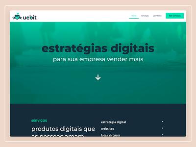 uebit Website Design webdesign web design website user interface design ux design ui design ux user experience user interface ui