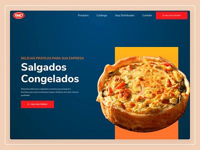 RMD Distribuidora - Website Design web design website user interface design ux design ui design user experience ux user interface ui
