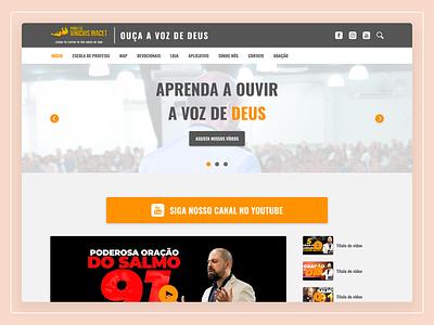 Profeta Vinícius Iracet - Website Design webdesign web design website user interface design ux design ui design user experience ux user interface ui