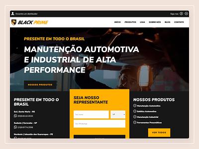 Black Prime - Website Design webdesign web design website user interface design ux design ui design user experience ux user interface ui