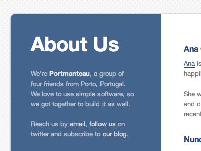 About Portmanteau