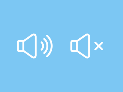 Sound Icons icons volume mute sound speaker icon