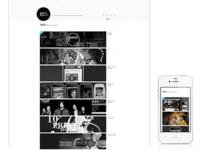 Portfolio Page Responsive Design