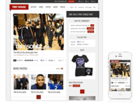 Responsive Photo Detail Page