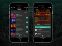 Venew App  – venue screens