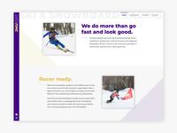 James Madison Ski & Snowboard Racing Team Website