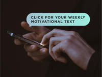 """""""Weekly Motivational Text"""""""