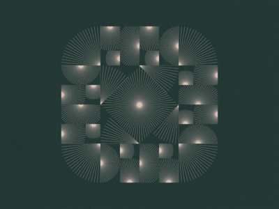 Pattern Play   01 tile pink green pattern abstract symmetry texture illustrator design illustration