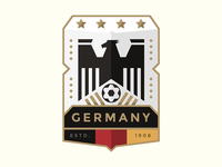 World Cup Badge Design 2018 / Germany