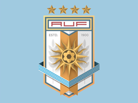 World Cup Badge Design 2018 / Uruguay