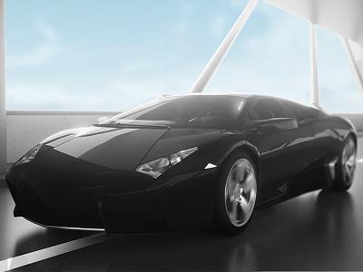 Lamborghini Reventon - Cinema 4D cinema4d carmodeling render c4d modeling physicalrender