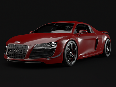 Audi R8 CGI // Cinema 4D cgi audir8 nativerender rendernativo physicalrender cinema4d teamrender