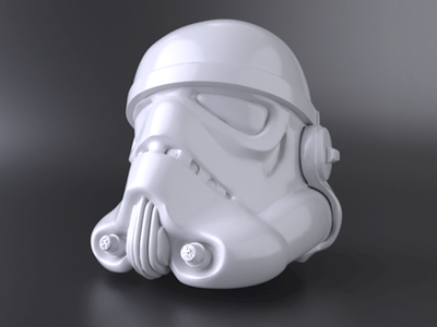 Stormtrooper // Zbrush + Cinema4D