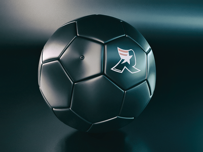 BlackBall Soccer of Death // Cinema4D + Corona bola de futebol coronarender c4d renderia futebol soccer blackball cinema4d