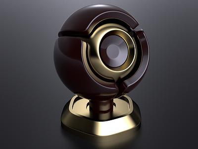 Orbe C4D - Physical Material and Render. illustration modeling c4d cgi renderia render physicalrender cinema4d