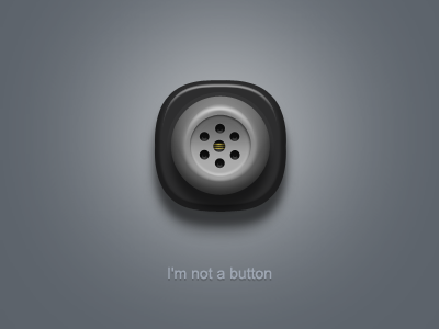 I'm not a button icon phone button black gray telephone ico