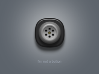 I'm not a button