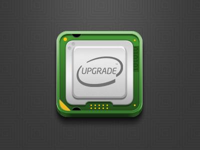 bong! bong...bong...bong...bong! icon ico cpu update upgrade system computer i7 i5 i3