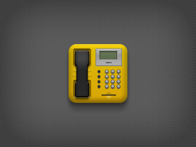 Public Telephone public telephone phone icon yellow