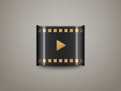 Film video tv movie youtube film icon