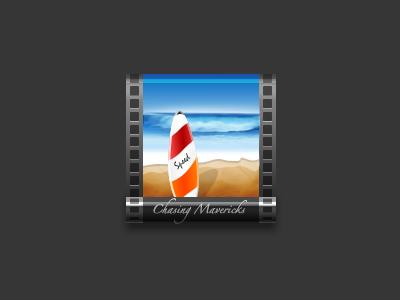 Chasing Mavericks icon movie film video picture album surf sand