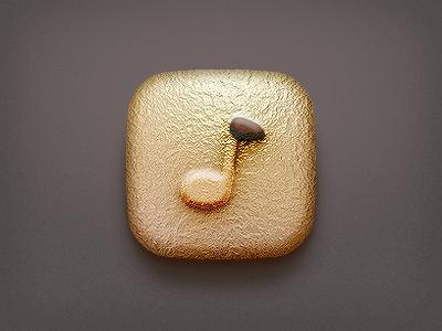 i Chocolate Music icon ico music chocolate mp3 gold
