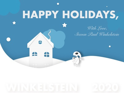 Happy Holidays 2020 vector illustration design
