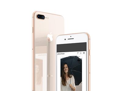 Photofeeler Redesign ui ux app design app ratings photos