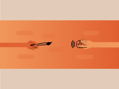 Art-tech illustration programmers artists design banner technology art