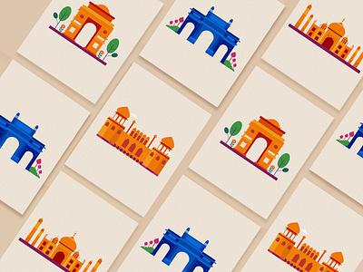 Indian Elements photoshop art brushes procreate branding typography illustrator vector design illustration