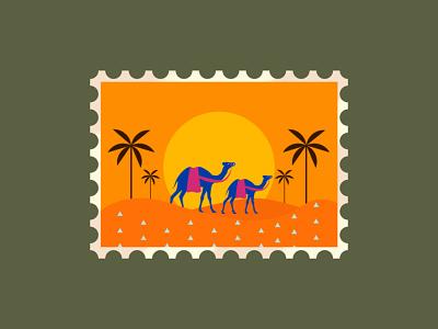 Rajasthan branding art illustrator brushes artlover typography vector procreate design illustration