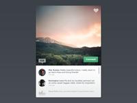 Places + Comments